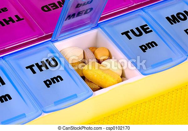 médicament, quotidiennement - csp0102170
