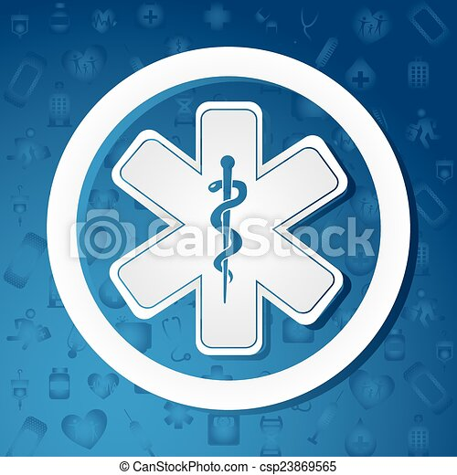 Diseño médico - csp23869565