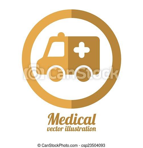 Diseño médico - csp23504093