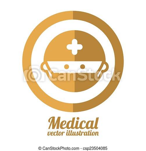 Diseño médico - csp23504085