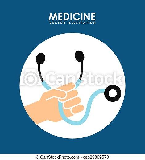 Diseño médico - csp23869570