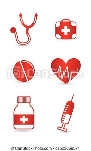 Diseño médico - csp23869571