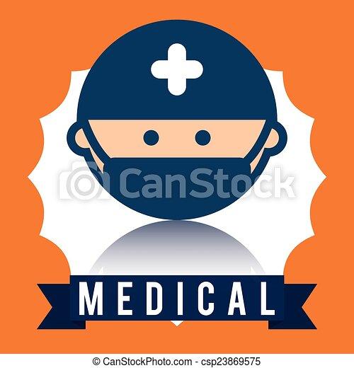 Diseño médico - csp23869575
