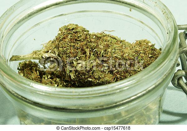 Marihuana médica - csp15477618