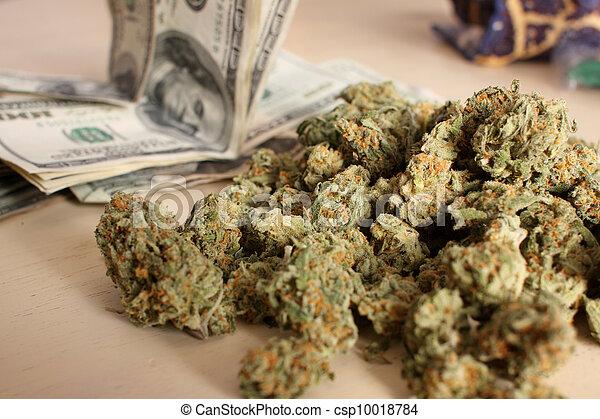 médico, pilha, marijuana - csp10018784
