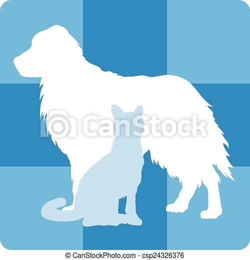 El símbolo médico veterinario - csp24326376