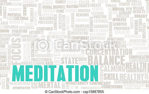 méditation - csp15887855