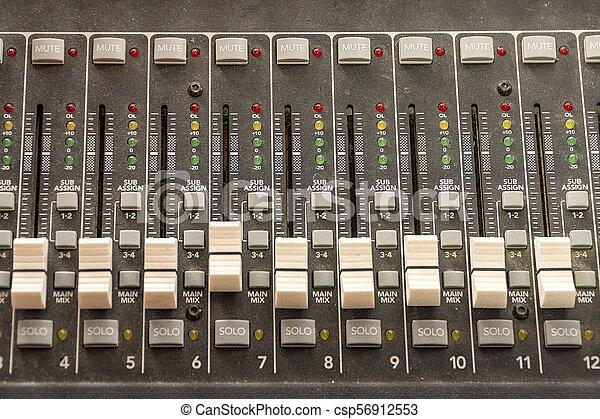 mélange, sliders, console - csp56912553