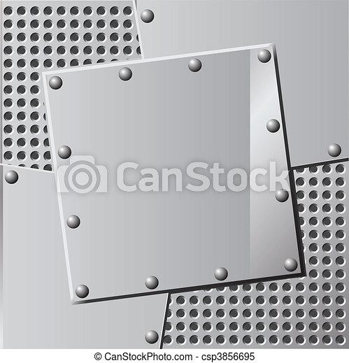 métal, fond - csp3856695
