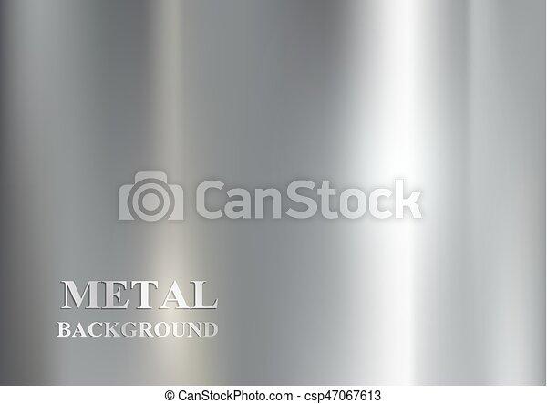 métal, fond - csp47067613