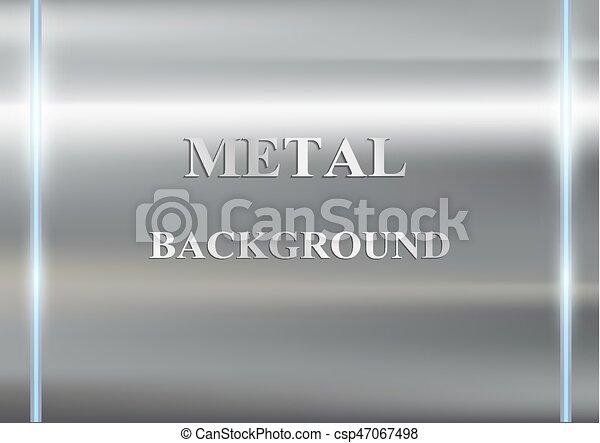 métal, fond - csp47067498
