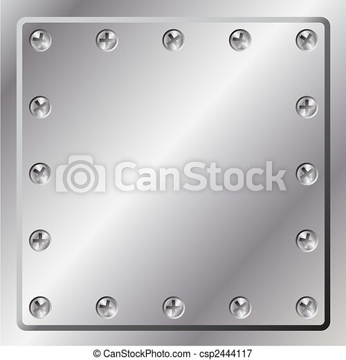 métal, fond - csp2444117