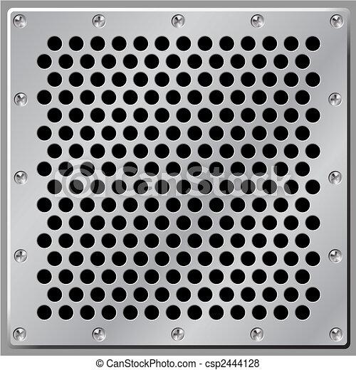 métal, fond - csp2444128