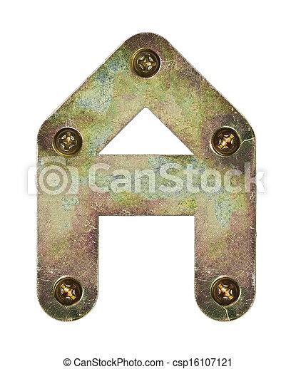 métal, lettre - csp16107121
