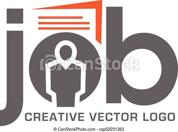 métier, logo, recherche, application - csp52231363
