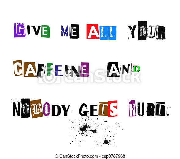 Dame tu cafeína - csp3787968