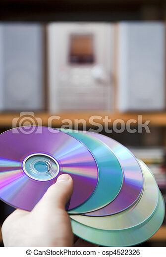 mídia, cd áudio - csp4522326