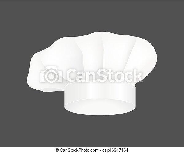 mít na sobě, móda, látka, restaurace, moderní, uniforma, vrchní kuchař, vektor, kostým, sporák, běloba povolání, illustration. - csp46347164