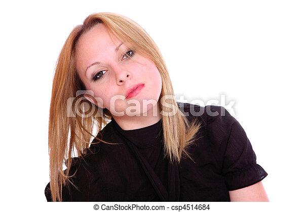 Leichtes Mädchen - csp4514684