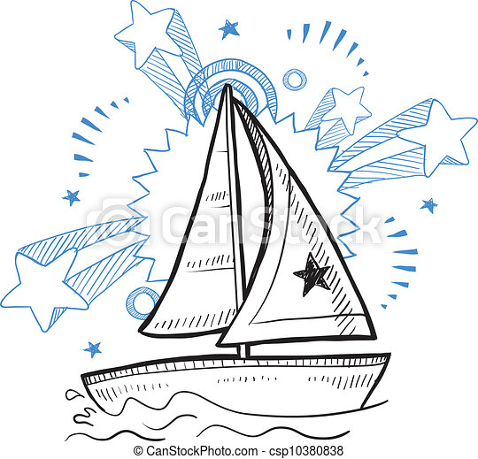 Vitorlás hajó rajzok