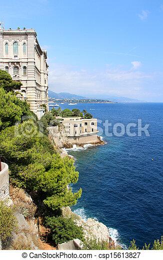 Monte Carlo City, Monaco, Provenza - csp15613827