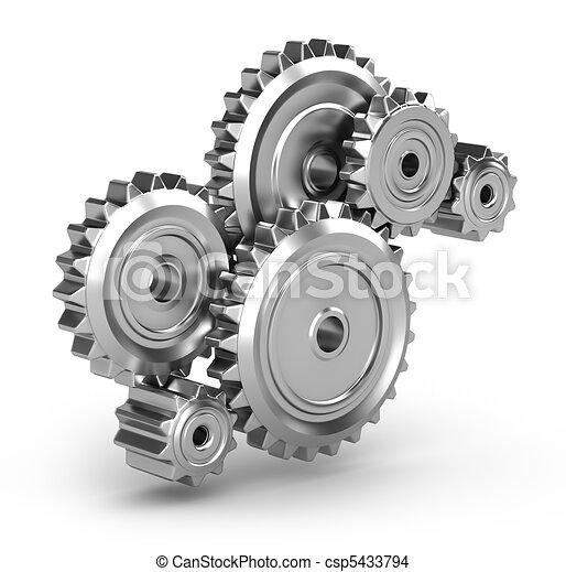 móvel, :, engrenagens, perpetuum - csp5433794