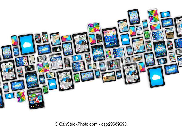 Dispositivos móviles - csp23689693