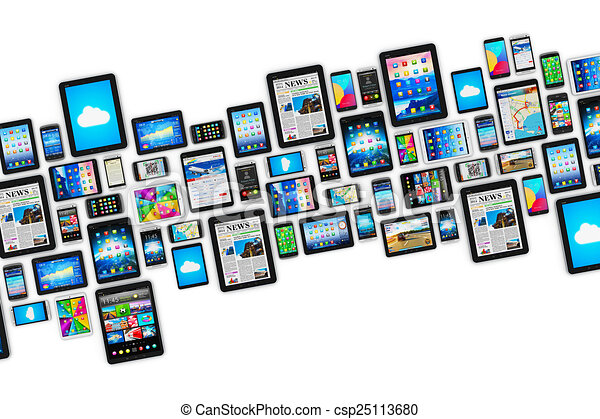 Dispositivos móviles - csp25113680