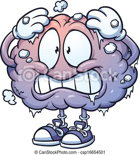 mózg, marznąć - csp16654501