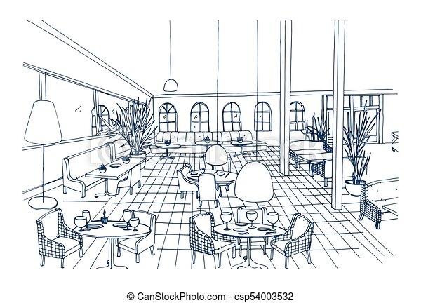 Mobliert Modern Phantasie Elegant Colors Freehand Cafe Style