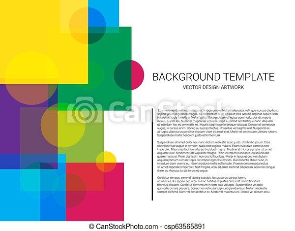 mönster, abstrakt, bakgrund., vektor, geometrisk, minimal, design. - csp63565891