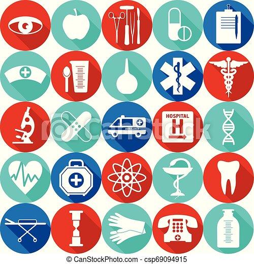 mönster, medicinsk, seamless - csp69094915