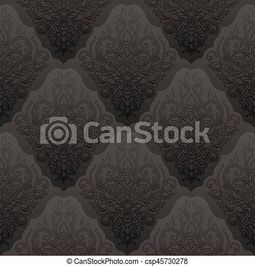 mönster, seamless, bakgrund - csp45730278