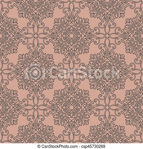 mönster, seamless, bakgrund - csp45730269