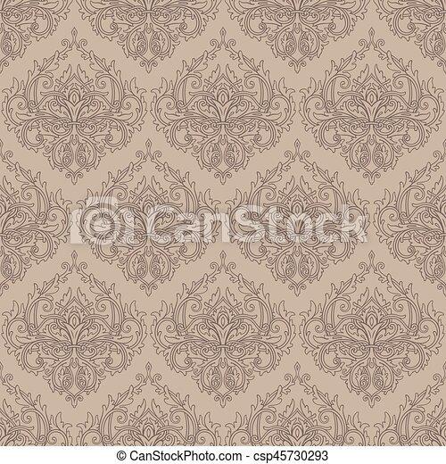 mönster, seamless, bakgrund - csp45730293