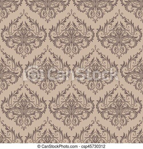 mönster, seamless, bakgrund - csp45730312