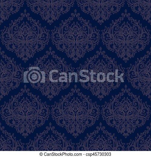 mönster, seamless, bakgrund - csp45730303