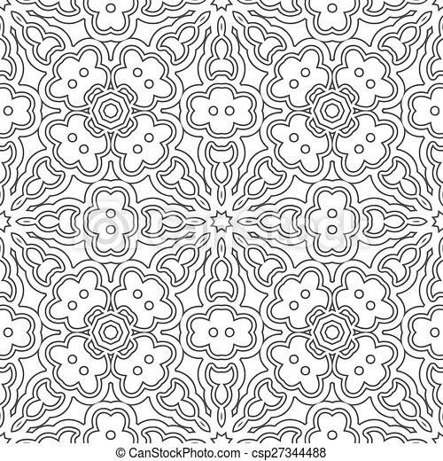 mönster, seamless - csp27344488