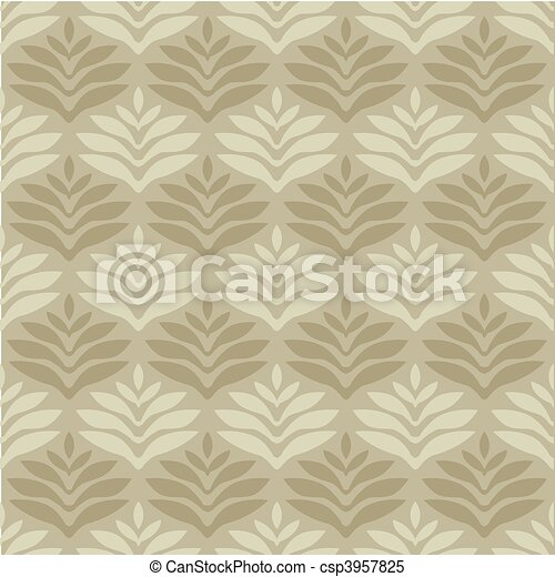mönster, vektor, seamless, bakgrund - csp3957825