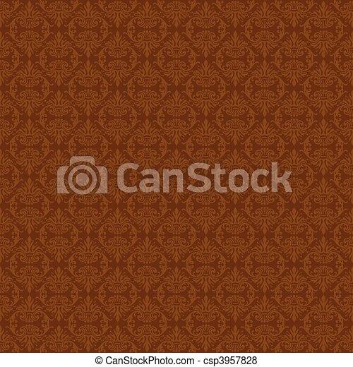 mönster, vektor, seamless, bakgrund - csp3957828