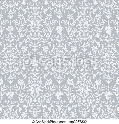 mönster, vektor, seamless, bakgrund - csp3957832