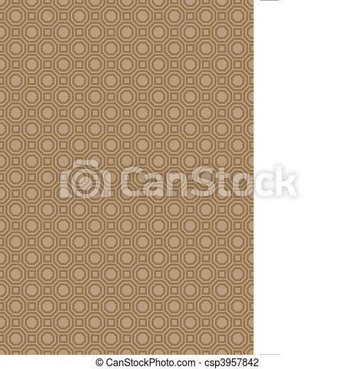mönster, vektor, seamless, bakgrund - csp3957842