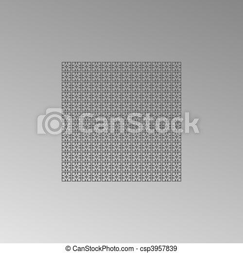 mönster, vektor, seamless, bakgrund - csp3957839