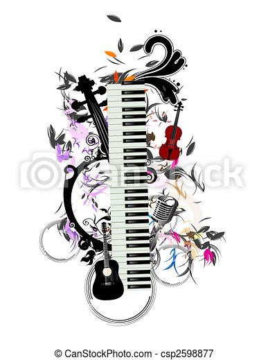 música - csp2598877