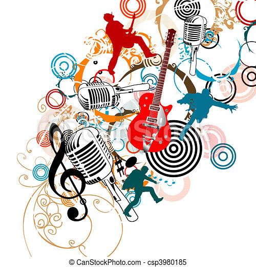 música - csp3980185