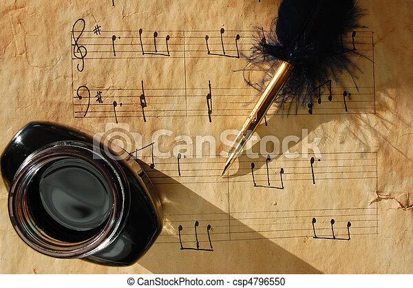 música - csp4796550