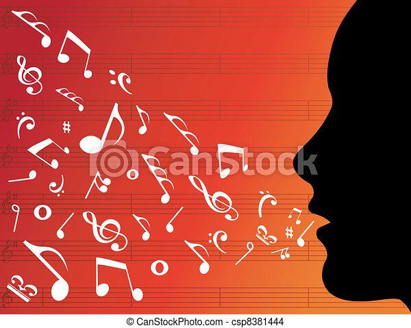 cabeza música