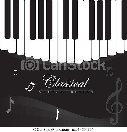 música, clássico - csp14294724