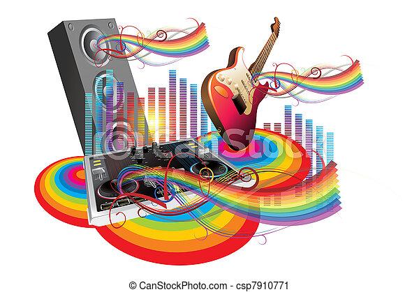 Música en el mundo - csp7910771