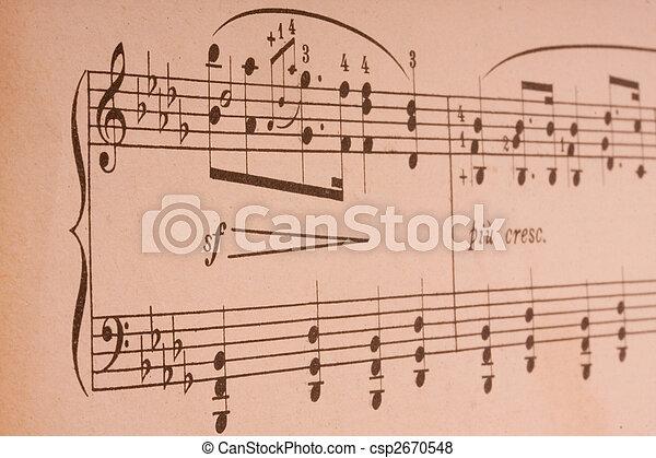 música - csp2670548